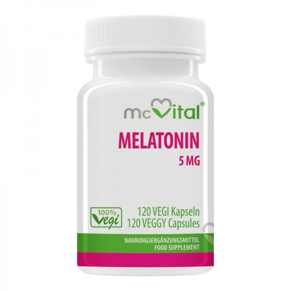 Melatonin 5 mg - 120 Vegikapseln