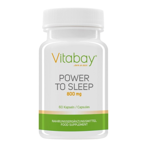 Power to Sleep - 800 mg - 60 Kap