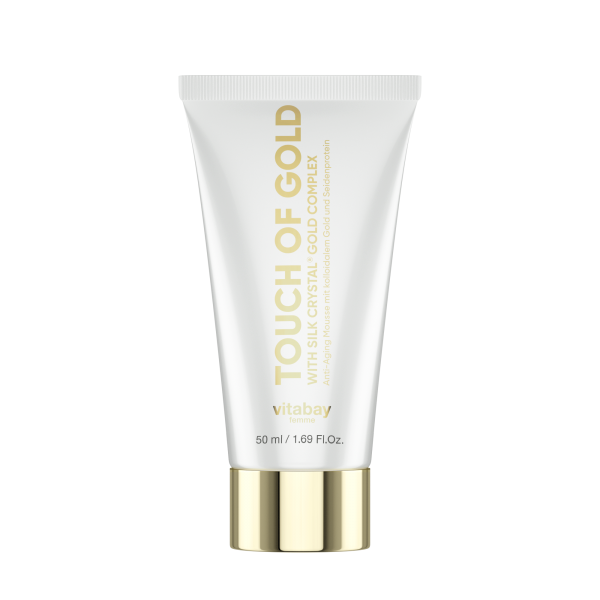 Touch of Gold 50ml - Anti-Aging Creme mit kolloidalem Gold und Seide