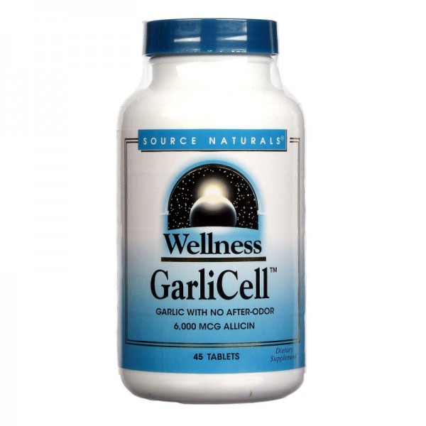 Wellness GarliCell™ Knoblauch 650 mg 45 Tab. - 6000 mcg Allicin