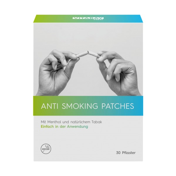 Anti-Smoking Patches mit Depotwirkung, 30 Pflaster