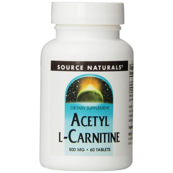 Acetyl-L-Carnitin 500 mg - 60 Tabletten