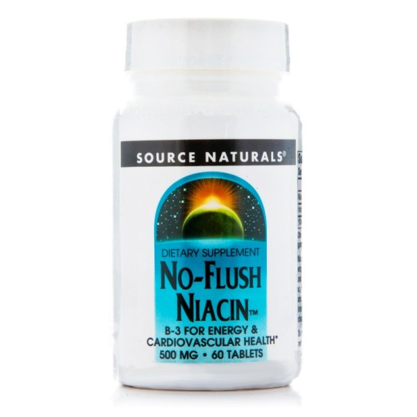Niacin B 3 - Flush Free - 500 mg - 60 Tabletten