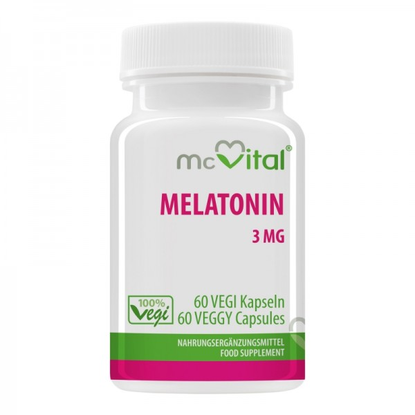 Melatonin 3 mg - 60 Vegikapseln