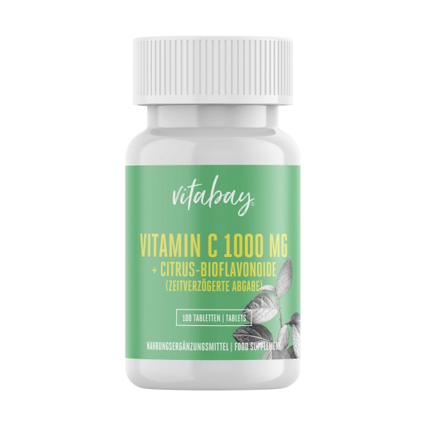 Vitamin C 1000 mg + Bioflavonoide - Time Released