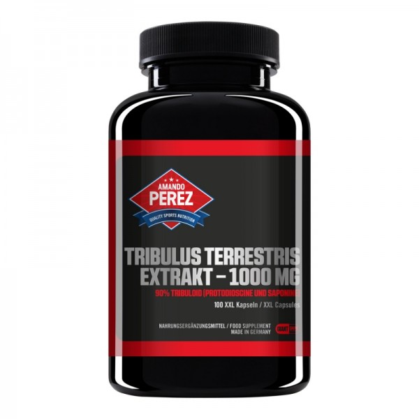 Tribulus Terrestris Extrakt - 1000 mg - 90% Tribuloid - 100 Giant Caps