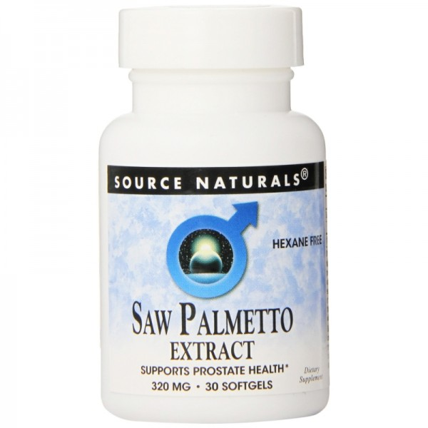 Saw Palmetto Extrakt 320 mg - Extra starke Dosis! - 30 Softgels