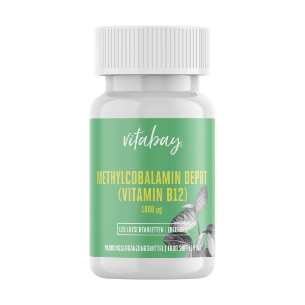 Vitamin B12 - 1000 mcg - Methylcobalamin