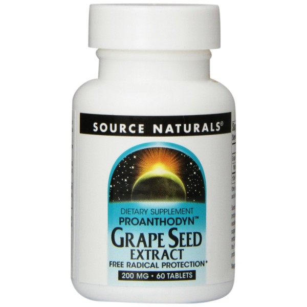 Grape Seed Extract (OPC) - 200 mg - extra hoch dosiert - 60 Tabletten