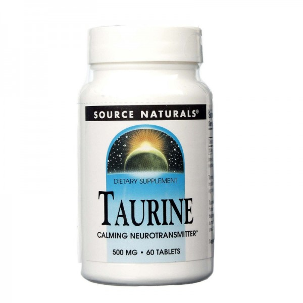 Taurin - 500 mg - 60 Tabletten