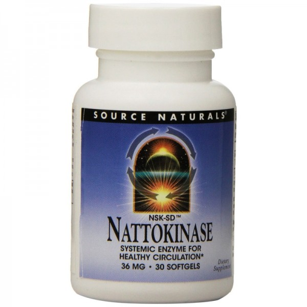 Nattokinase - 36 mg / 720 FE - 30 Softgels - Enzym