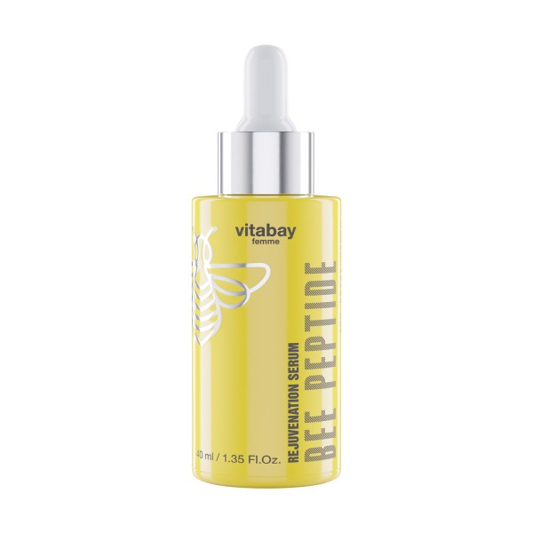 Bee Peptide Serum 40 ml - Rejuvenation mit RoyalEpigen P5, Propolis, Gelee Royal und Blütenhonig