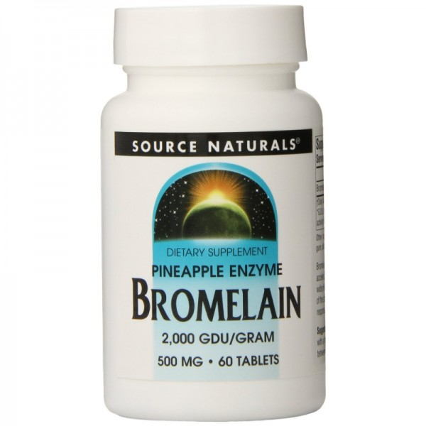 Bromelain - 600 GDU/g - 500 mg 60 Tabletten