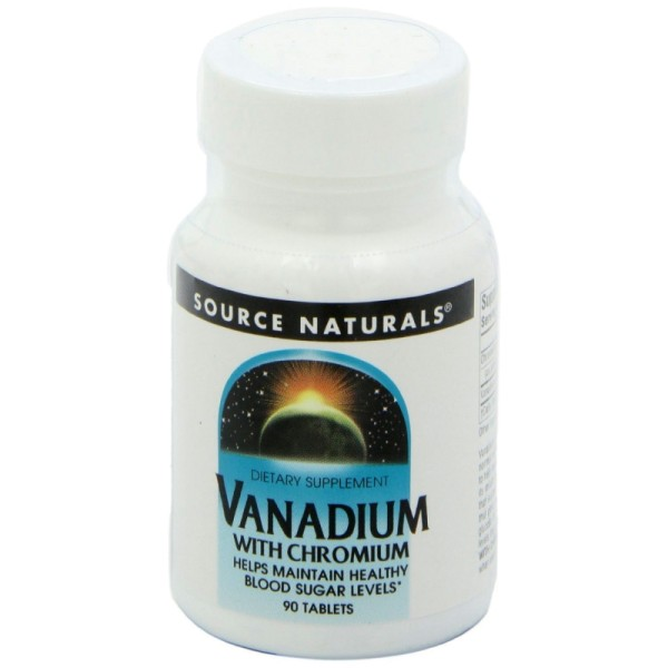 Vanadium mit Chrom - 90 Tabletten
