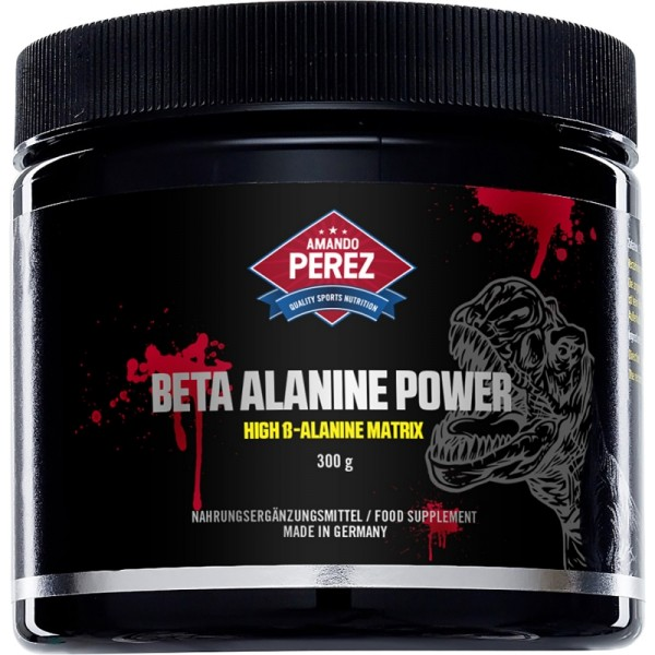 Beta Alanine Power - 3000 mg Portion - High ß-Alanine Matrix - 300 g