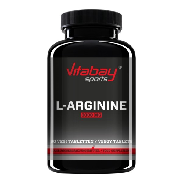 L-Arginin 3000 mg - 90 Tabletten