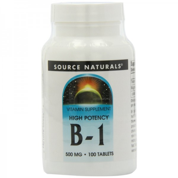 Vitamin B1 - 500 mg - 50 Tabletten