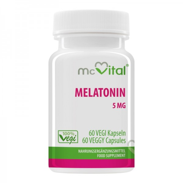 Melatonin 5 mg - 60 Vegikapseln